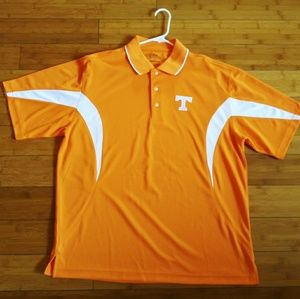 PGA Tour Golf Polo Orange Tennessee Large L